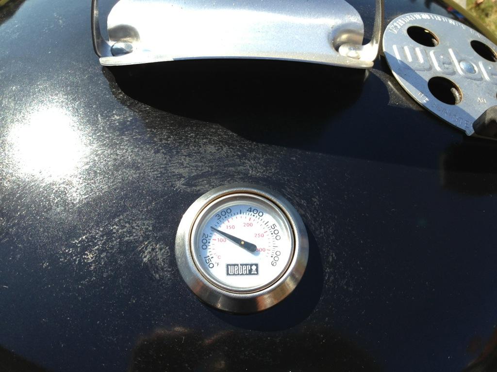 Weber Holzkohlegrill Thermometer Nachrüsten : Der kugelgrill