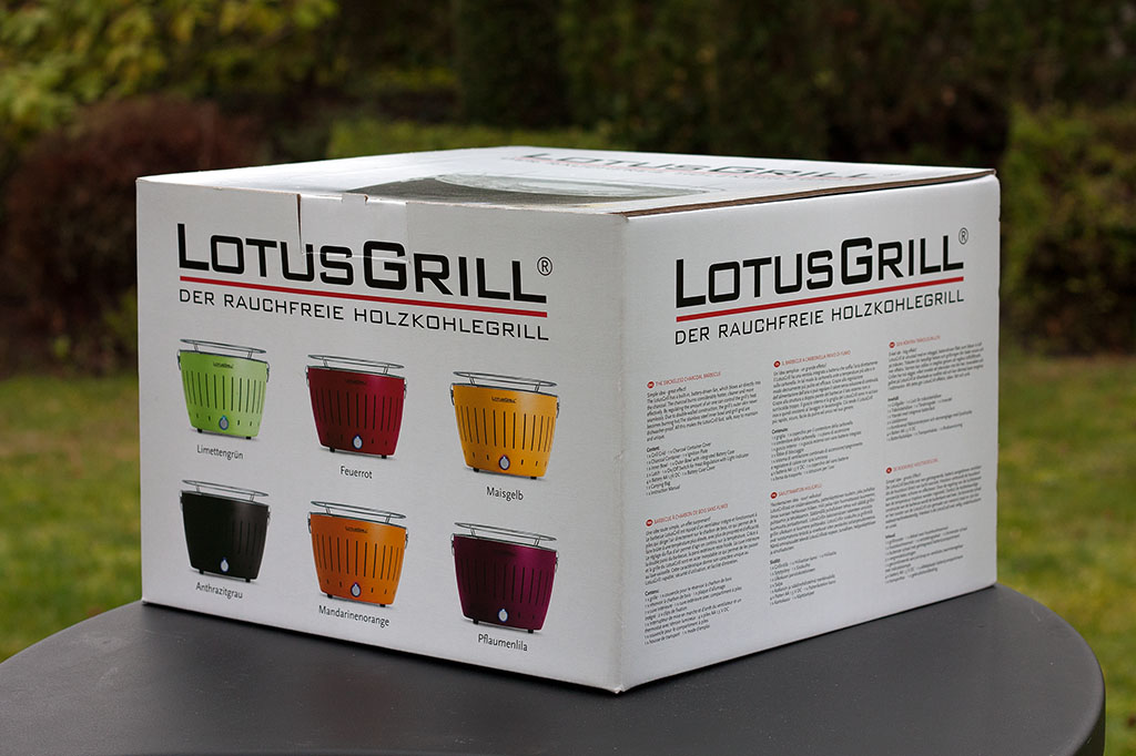Rauchfreier Holzkohlegrill Lotusgrill : Lotusgrill testbericht sponsored post bigbbq.de