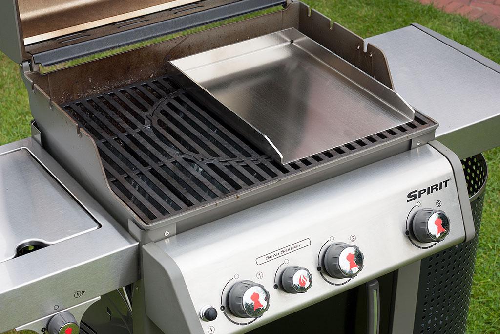 Weber Elektrogrill Grillplatte : Grillplatte aus edelstahl von grillrost im test bigbbq