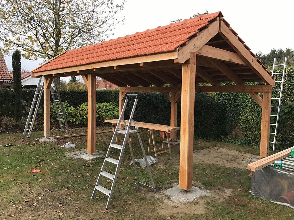 Outdoor Küche Aus Holland : Bau der bigbbq grill remise bigbbq.de