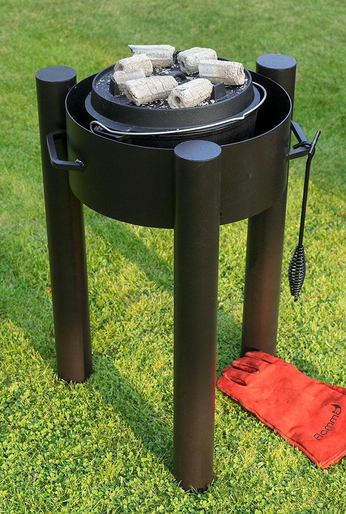 flammo dutch oven feuerschale. Black Bedroom Furniture Sets. Home Design Ideas