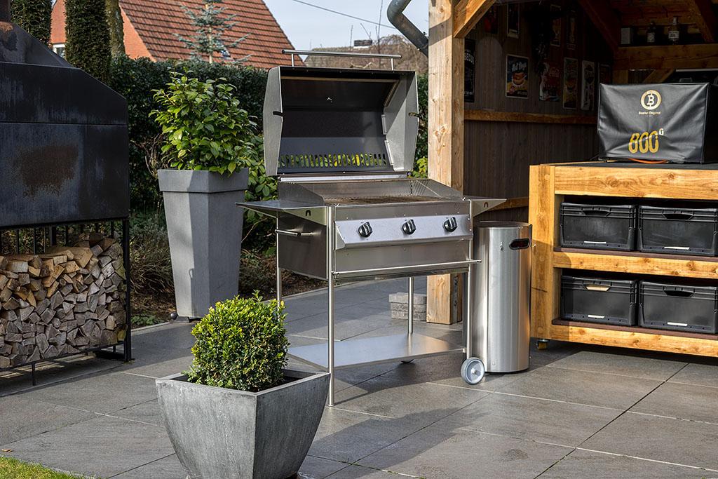 Bester Holzkohlegrill Xl : Schickling grill premiogas xl im praxis test bigbbq