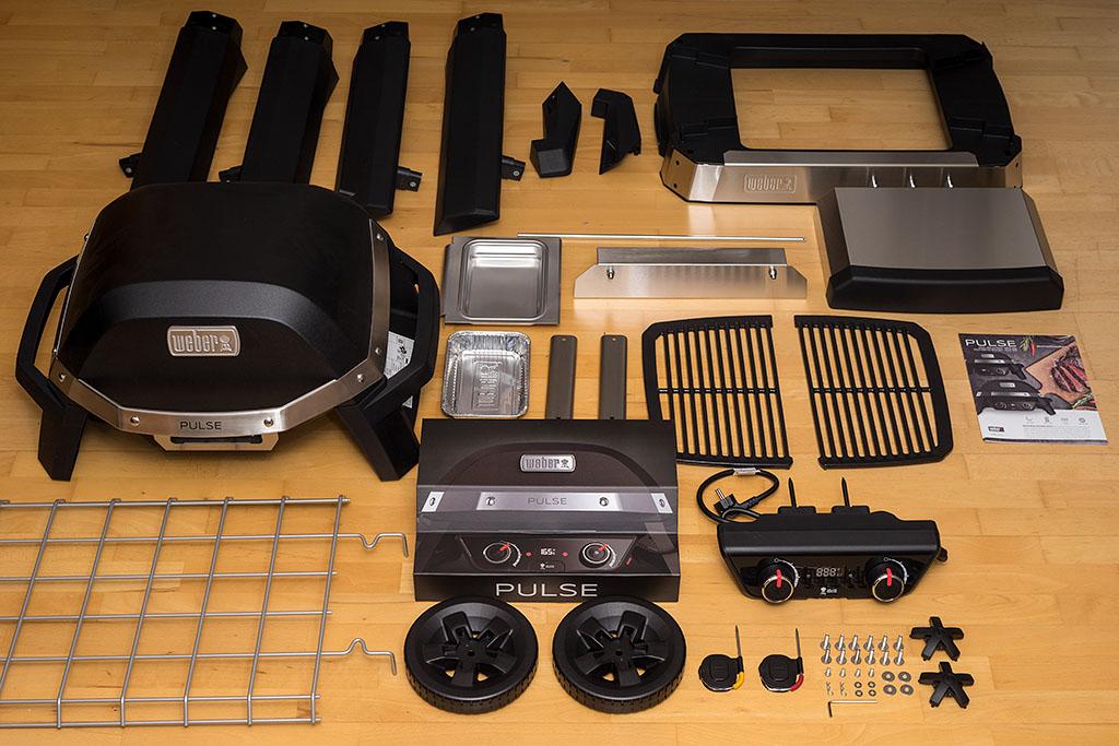 Weber Elektrogrill Pulse 2000 : Produktvorstellung weber pulse elektrogrill unboxing bigbbq
