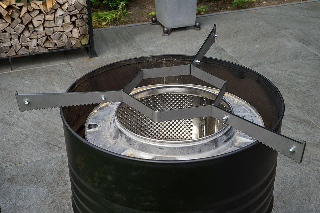 Bauprojekt Feuerplatte Grillplatte Grillring Station Grillrost Com Bigbbq De